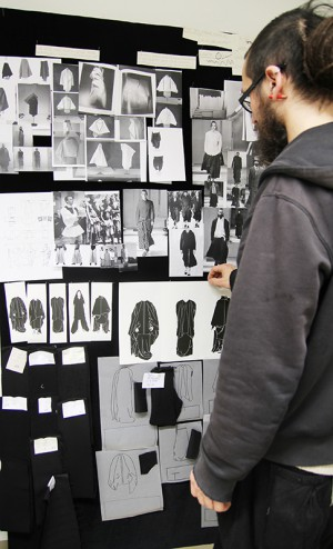Behind the scenes studiengang design for Praktikum produktdesign