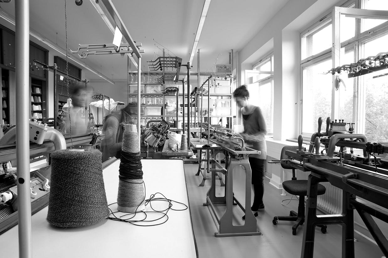 Strickerei studiengang design for Praktikum produktdesign