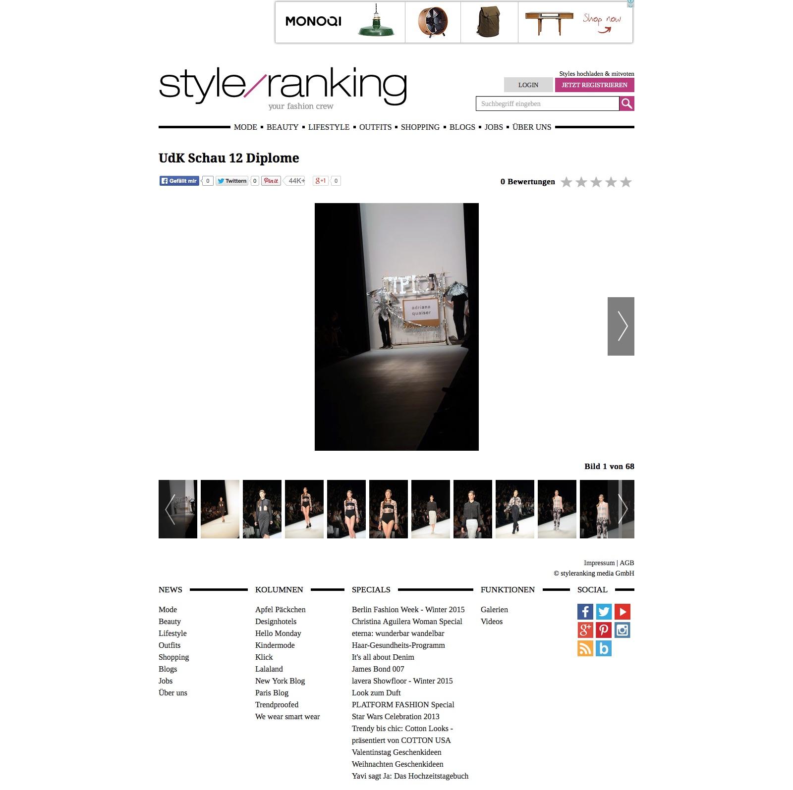 Bildergalerie - UdK Schau 12 Diplome - Bild 1 von 68 | styleranking