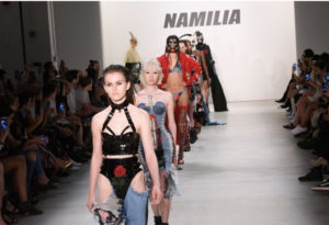 Namilia designers Nan Li and Emilia Pfohl put goth and punk in today's pop culture context for spring 2017.